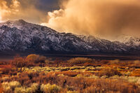 Sierra Sunset print