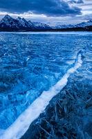 Snow Line print