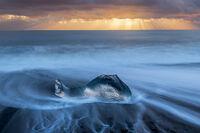 Ice Whale print