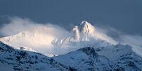 Winter Peaks print