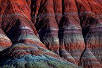 Cascading Colors print