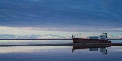 Alaska, Coast, Shipwreck, Kaktovik