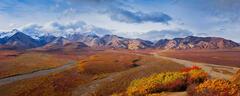 Alaska, Denali, Polychrome, Pass, Mountain, Alaska Range