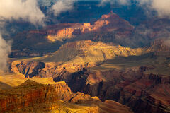 Arizona, Grand Canyon, Shadows, Rainstorm