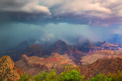 Arizona, Grand Canyon, Storm,