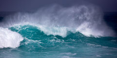 California, Carmel, Storm, Wave