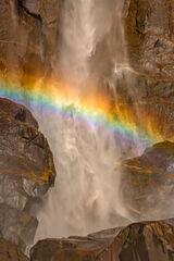 California, Yosemite, Bridalveil Falls, Rainbow