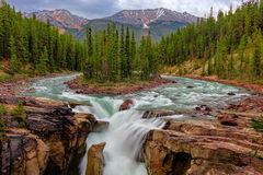 Canada, Sunwapta Falls, Waterfall
