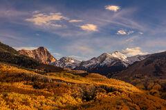 Colorado, Aspen, Fall, Color, Capitol Peak