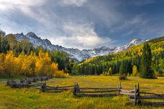Colorado, San Juan, Mountains, Fall, Color