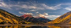 Colorado, Crystal Lake, Red Mountain, Fall