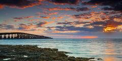 Florida, Florida Keys, Bahia Honda, sunrise