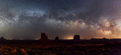 Utah, Monument Valley, Milky Way