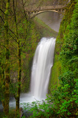 Oregon, Columbia River, Gorge, Multnomah, Falls, Waterfall