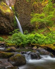 Oregon, Columbia, River, Gorge, Ponytail, Falls, Creek