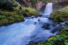 Oregon, McKenzie River, Sahalie, Falls