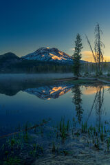 Oregon, Sparks, Lake, Sunrise