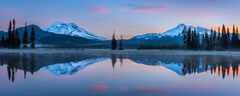 Oregon, Bend, Sparks Lake, Sunrise