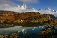 Argentina, Patagonia, Fitz-Roy, Laguna Capri