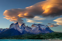 Chile, Patagonia, Torres del Paine, Mountain