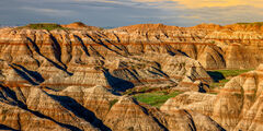 South Dakota, Badlands, National Park, Canyon,