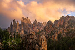 South Dakota, Custer, Sunrise, Needles, Needles Highway, Rock, Formations