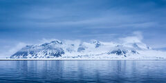 Norway, Spitsbergen, Mountain