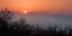 Tennessee, Smoky Mountains, Foothils Parkway, Sunrise, Mountain