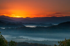 Tennessee, Smoky Mountains, Foothills Parkway, Mountain