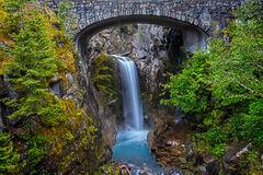 Washington, Mount Rainier, Christine Falls, Waterall