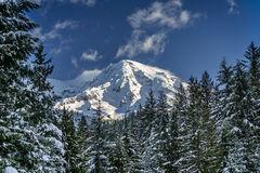 Washington, Mount Rainier, Snow, Winter