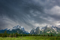 Wyoming, Tetons, Grand Tetons
