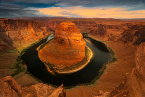 Arizona, Colorado River, Horsehoe Bend, limited edition, photograph, fine art, landscape, red rock