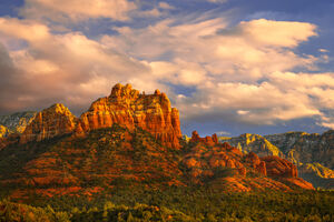 Arizona, Sedona, Red Rock, Mountains, Sunset, limited edition, photograph, fine art, landscape