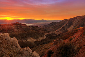 California, Death Valley, Aguereberry, Sunrise, limited edition, photograph, fine art, landscape