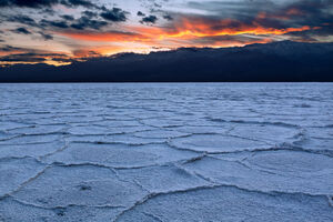 California, Death Valley, Badwater, Badwater Basin, salt flat, sunset, limited edition, photograph, fine art, landscape