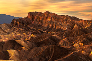 California, Death Valley, Zabriskie, Sunset, Sand, Rock, Color, limited edition, photograph, fine art, landscape
