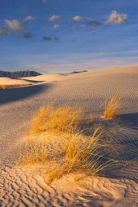 New Mexico, White Sands, desert, shadows