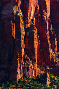 Utah, Zion, National Park, Canyon, Shadows,  Red Rock, limited edition, photograph, fine art, landscape