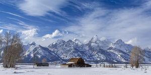 Wyoming, Tetons, Grand Tetons