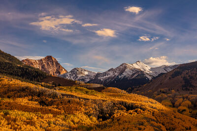 Colorado, Aspen, Fall, Color, Capitol Peak, limited edition, photograph, southwet colorado, fine art, landscape, fall color