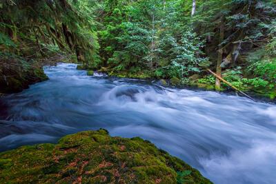 Oregon, McKenzie, River, Blue, limited edition, photograph, fine art, landscape