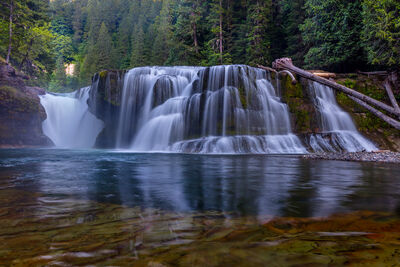 Washington, Lower Lewis Falls, Waterfall, River, Lewis River, limited edition, photograph, fine art, landscape