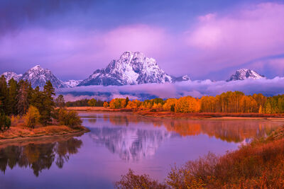 Grand Tetons | Snake River | Oxbow Bend