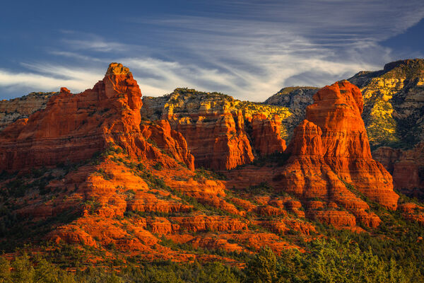 Arizona, Sedona, Red Rock, Sunrise, Clouds, limited edition, photograph, fine art, landscape