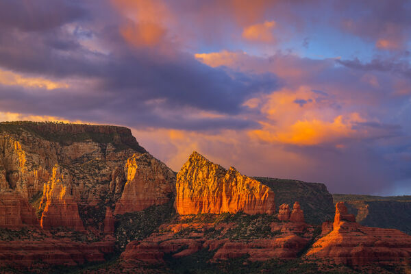 Arizona, Sedona, Sunset, Red Rock, limited edition, photograph, fine art, landscape, red rock