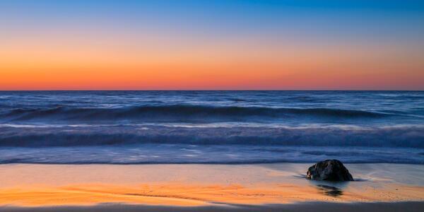 Abstract Photograph, California, Ocean, Waves,