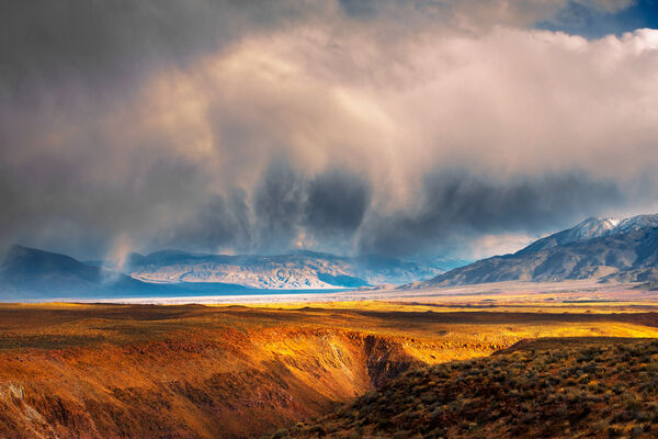 California, Storm, Eastern Sierra, Mountains, limited edition, photograph, fine art, landscape, desert