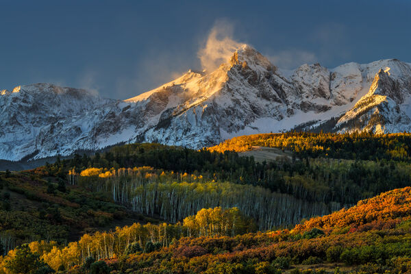 Colorado, Dallas Divide, Mount Sneffels, Fall, Color, limited edition, photograph, fine art, landscape