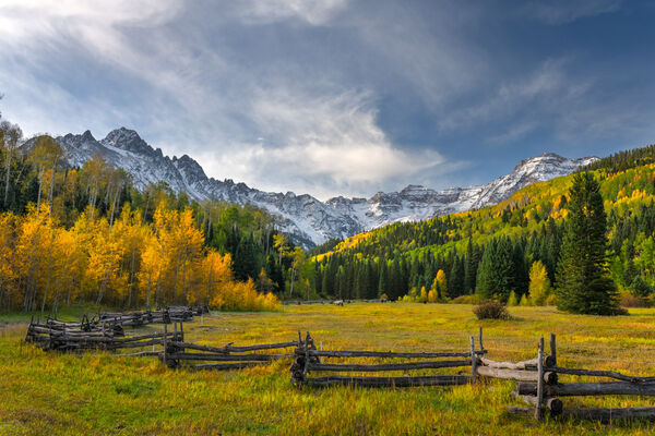 Colorado, San Juan, Mountains, Fall, Color, limited edition, photograph, southwest colorado, fine art, landscape, fall color